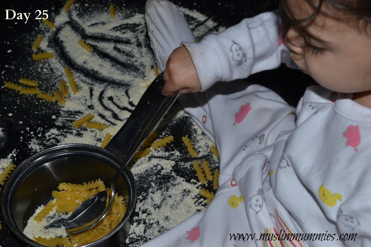 Dry messy play
