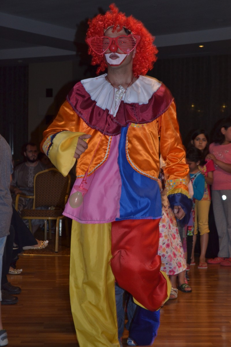 Crazy Clown, Mini disco at 9pm every night for the kids