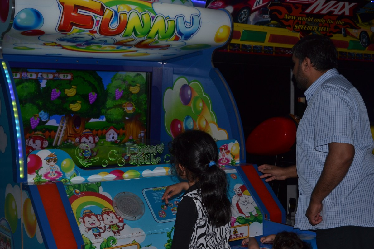Games area at Bera Hotel