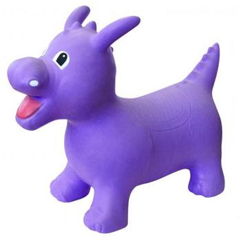 Purple dino happy hopperz