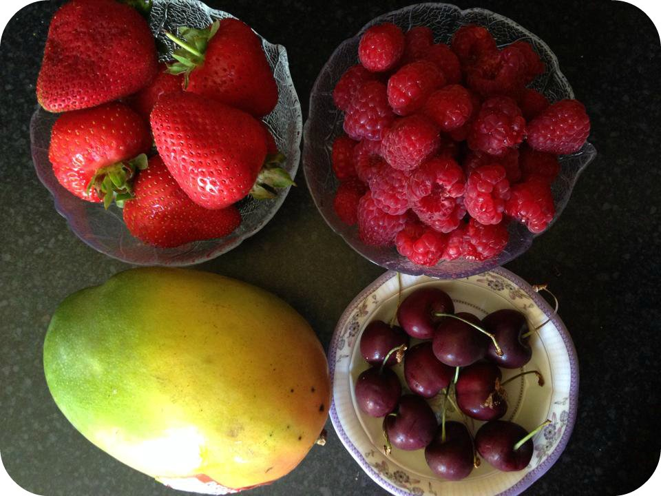 Fruit haul from Waitrose
