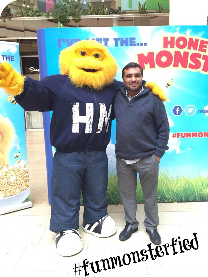 Honey Monster funmonsterfied