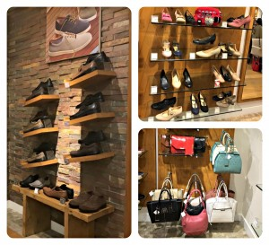 Not just stylish men's and ladie's shoes, Hotter also stocks handbags and clutches.