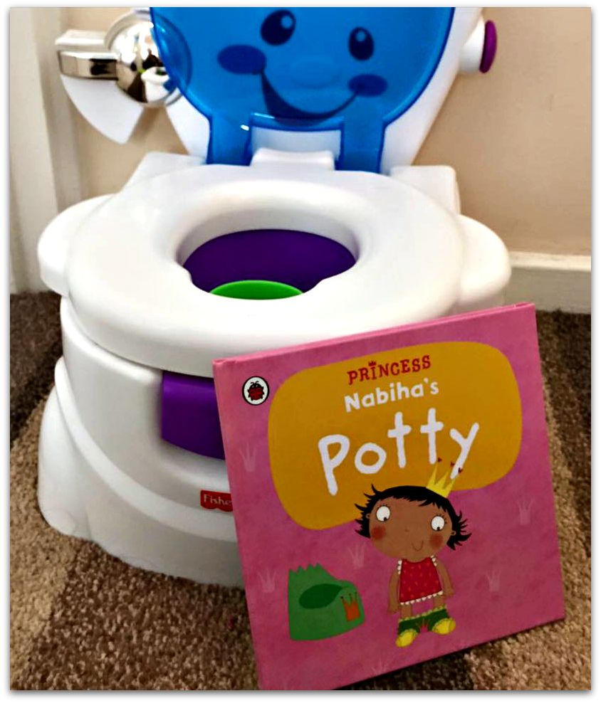 Personalised Potty training book