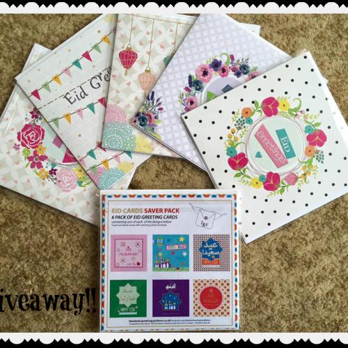 Eid Card Giveaway