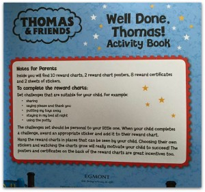 Thomas and Friends Activity Book