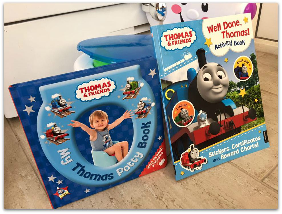Thomas and Friends Potty Books