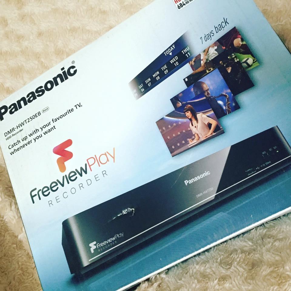 Panasonic freeview player