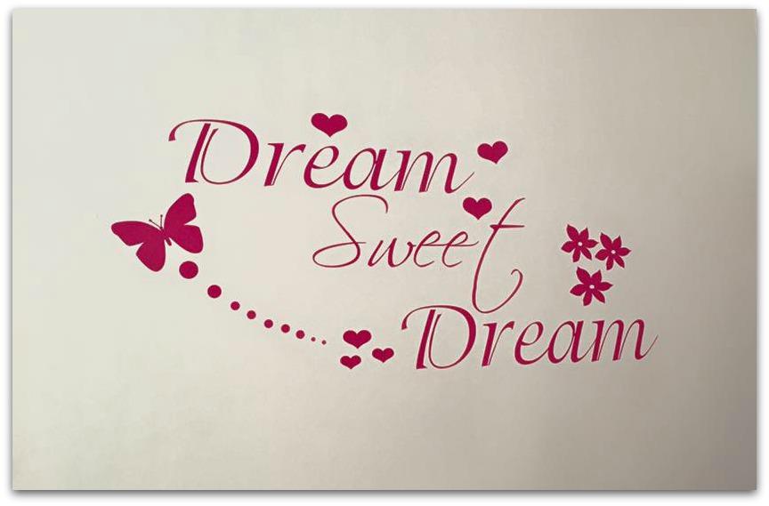 Dream Sweet Dream - JR Decal