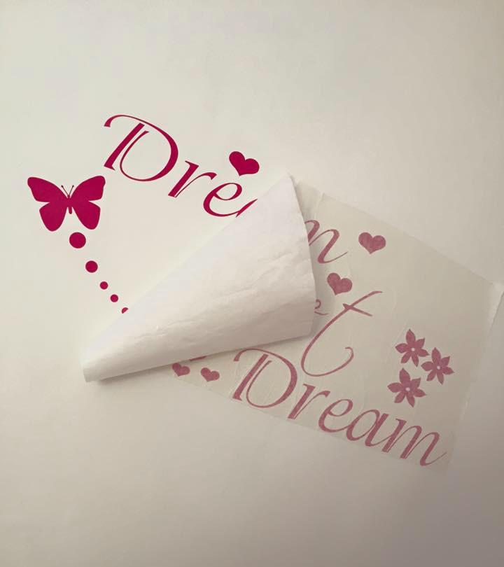 Dream Sweet dream JR decal