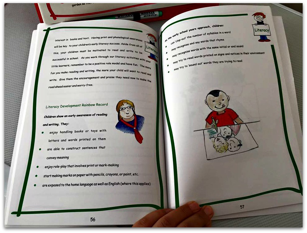 Rainbow Readiness book