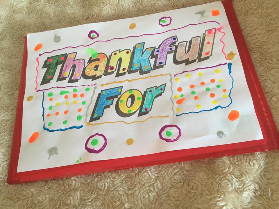 Thankful for folder