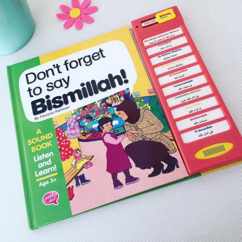 Don't Forget to Say Bismillah