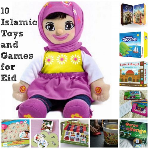 10 Islamic Toys and Games for Eid