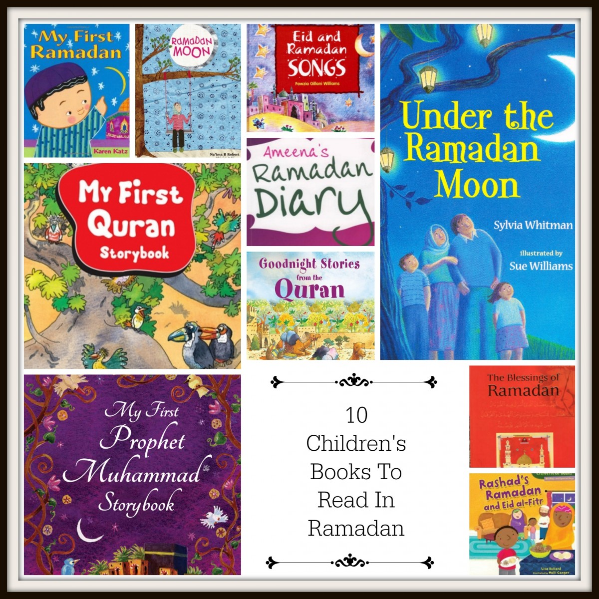 10 Ramadan Childrens books