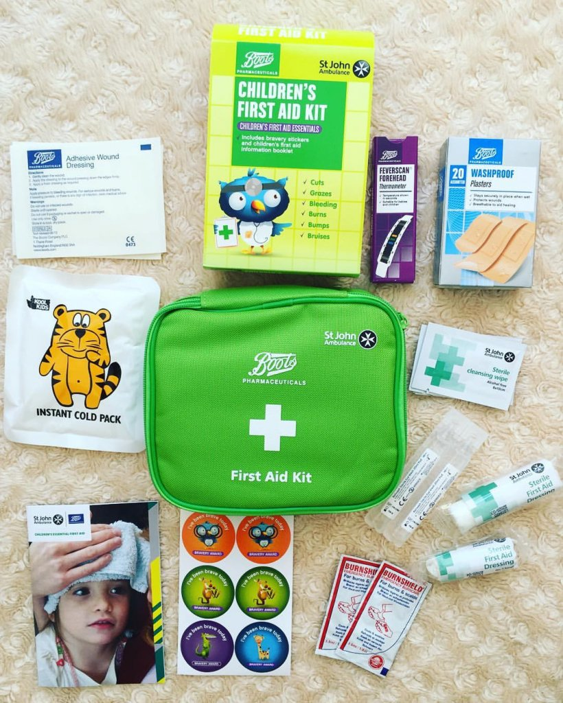 First Aid kit for children