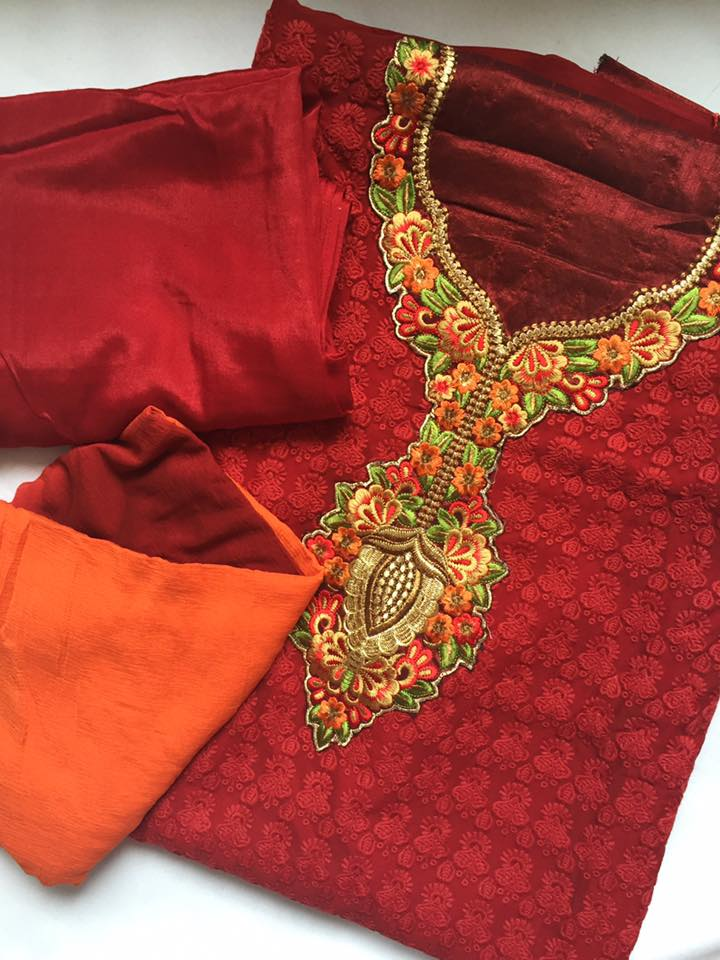 Red Zubeda Outift