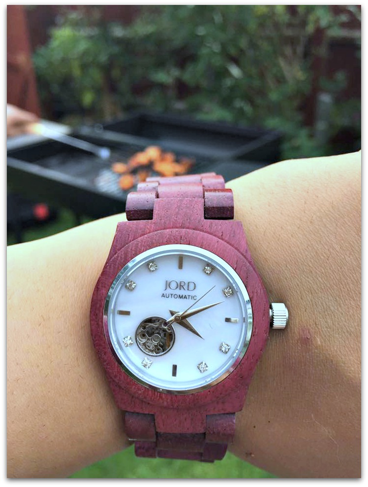 Cora purpleheart Jord Watch