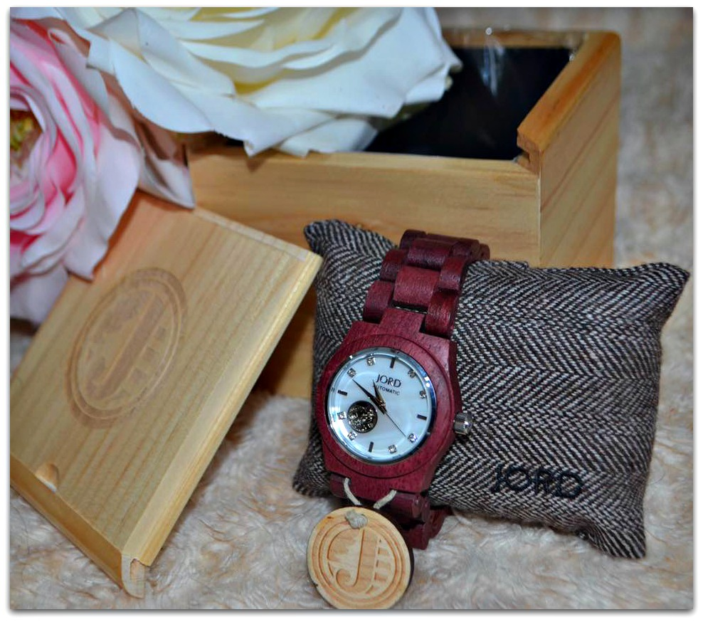 Jord Watch Purpleheart