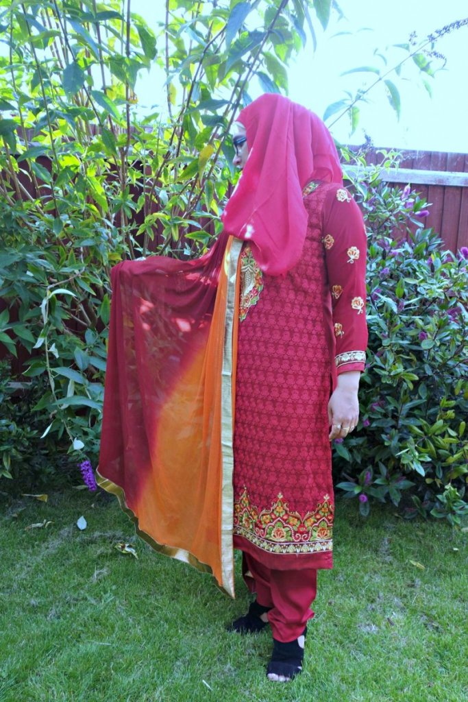 Zubeda princess collection stitched