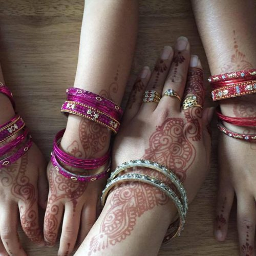 Eid Mehndi and bangles