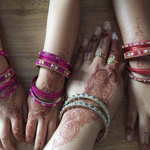 Eid Mehndi and bangles