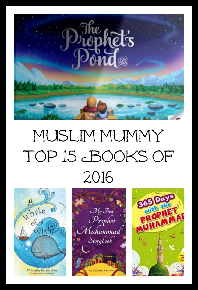 Muslim Mummy Top 15 Books of 2016