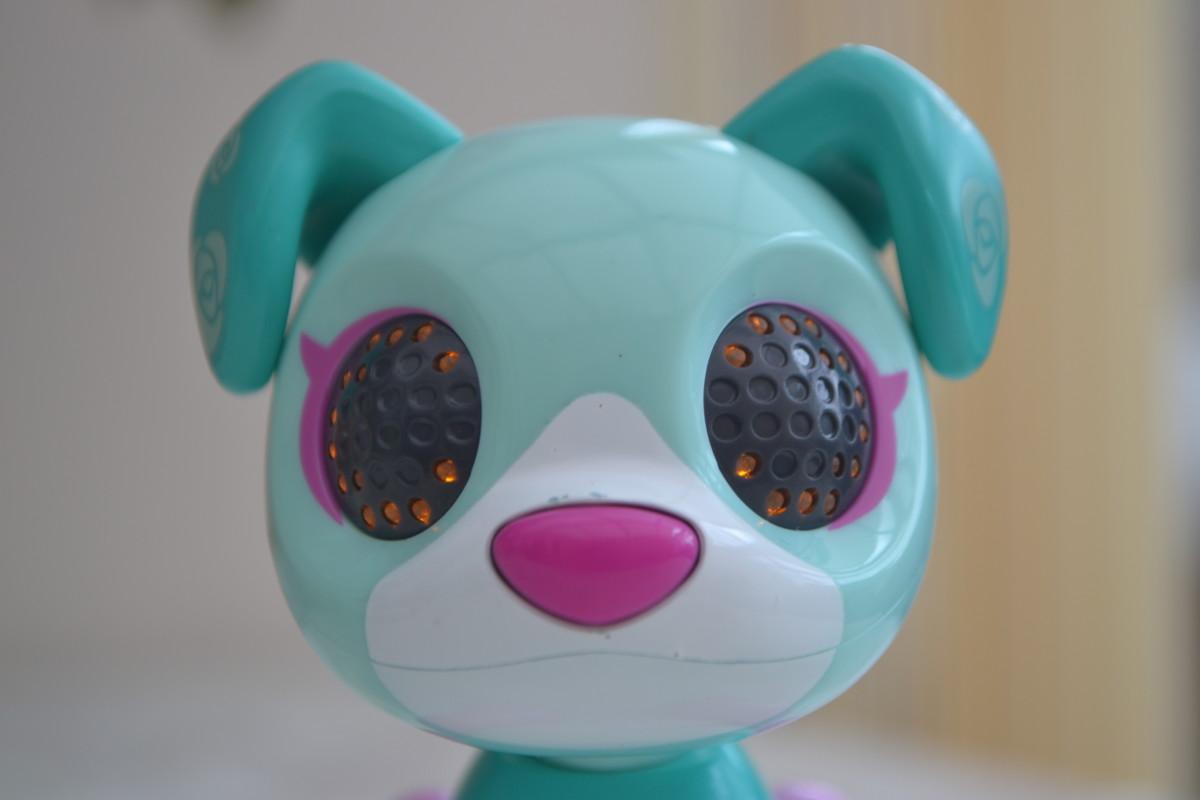 Zoomer Zups Tiny Pups retriever Posy