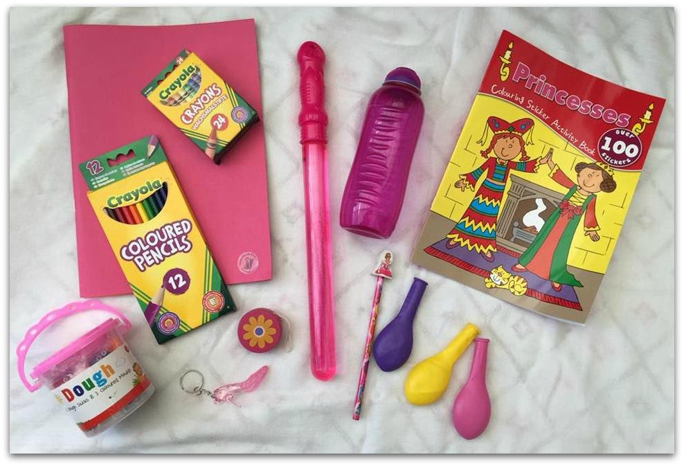 Kiddicone stationary and toys