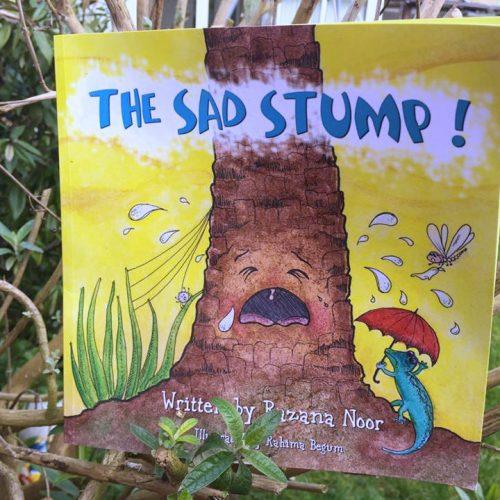 The Sad Stump by Razana Noor