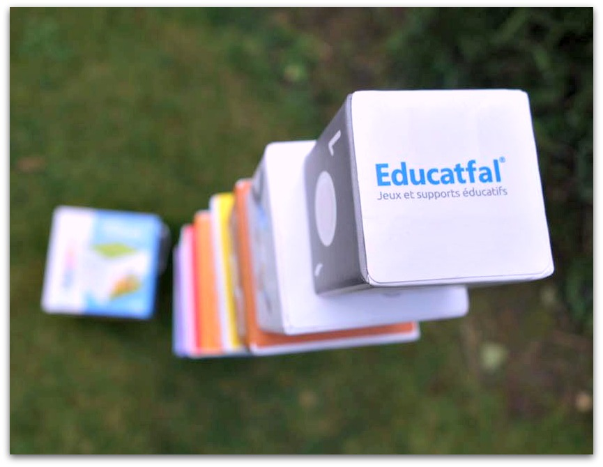 Eductaional Ludo cubes from Educatfal