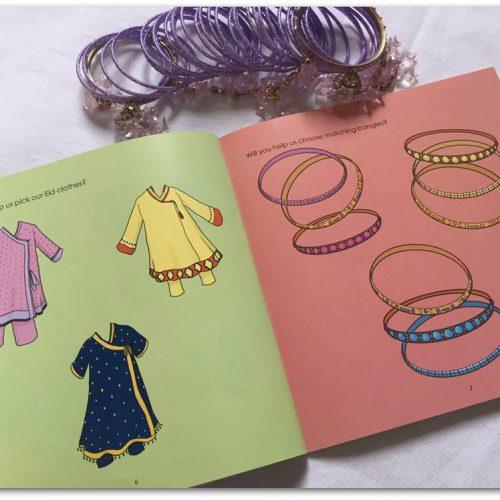 Eid Mubarak storybook page
