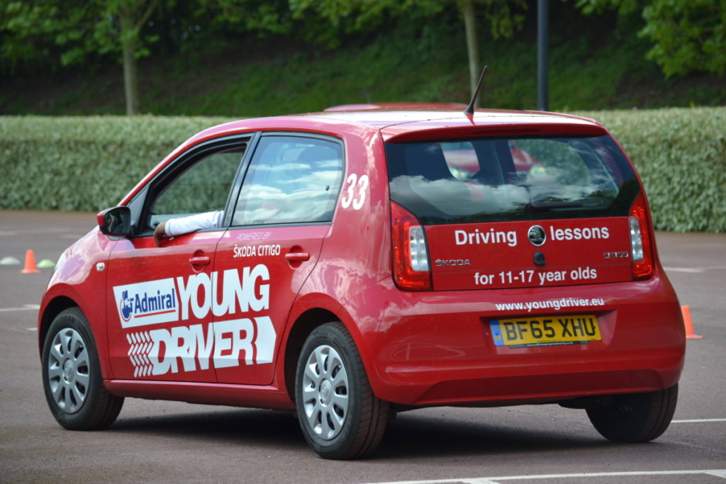 Admiral Young Driver Lessons for 10-17 year olds
