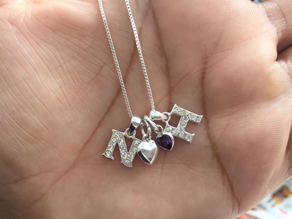 Kaya Jewellery mum necklace
