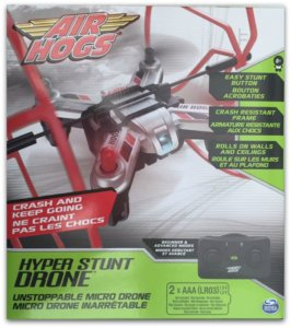 Review Spinmaster Air Hogs Hyper Stunt Drone
