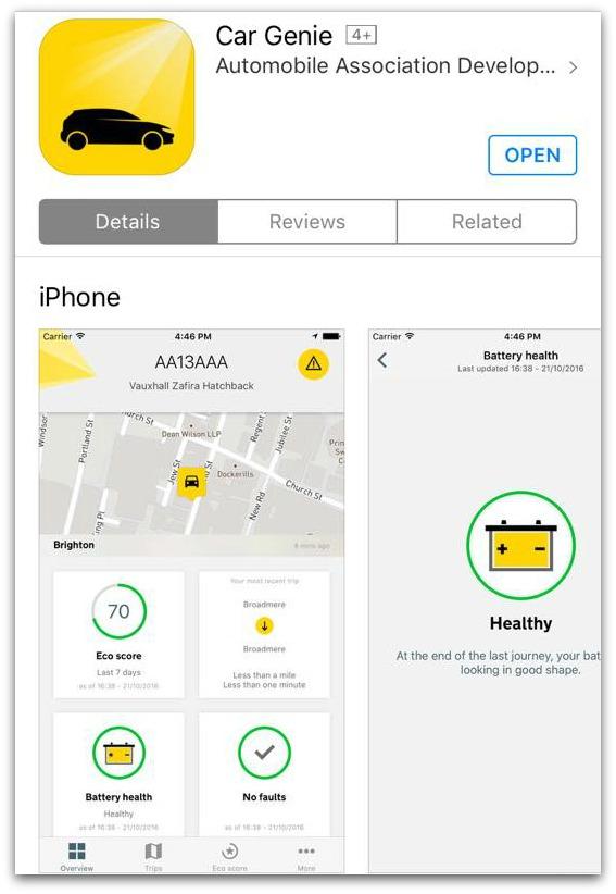 Car Genie App