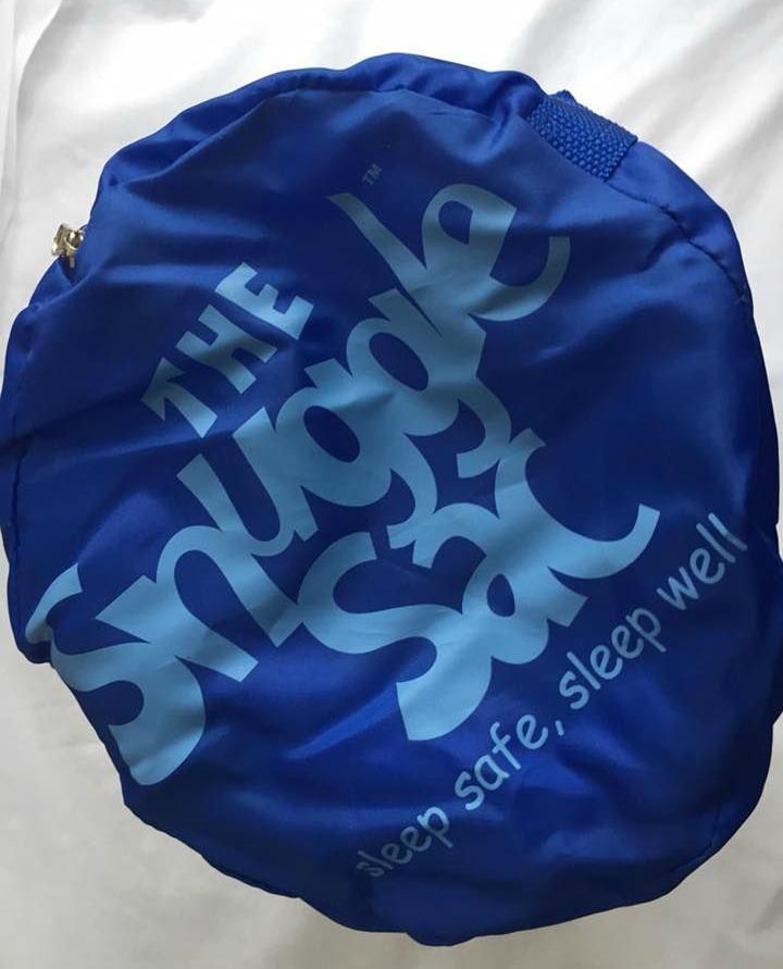 Snuggle sac tote bag