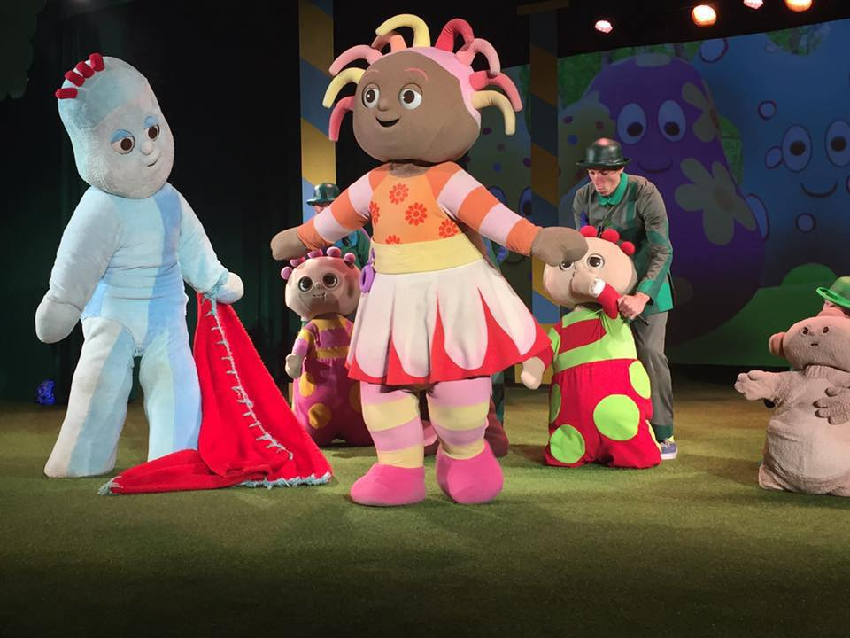 In the Night Garden Live characters