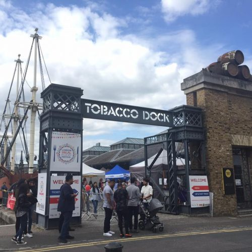 London Halal Food Festival Tobacco Dock