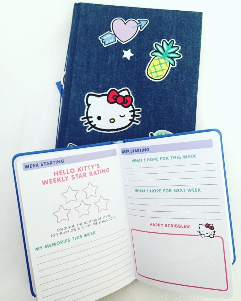 Hello Kitty notebooks