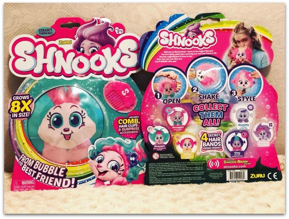 Shnooks packs