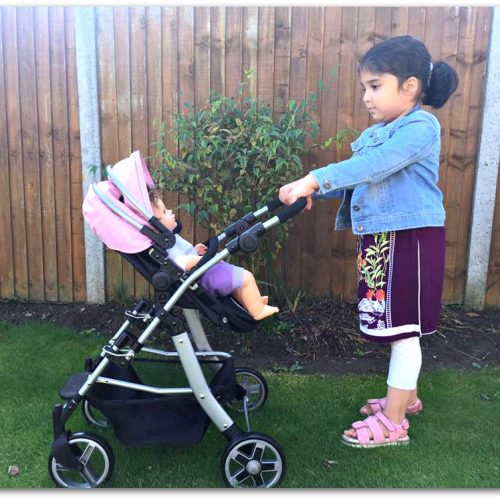 Silvercross dolls pushchair