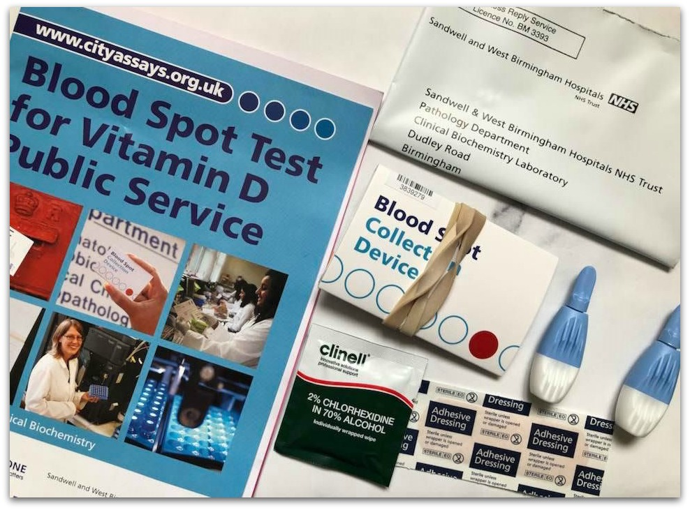 Vitamin D Home Testing Kit