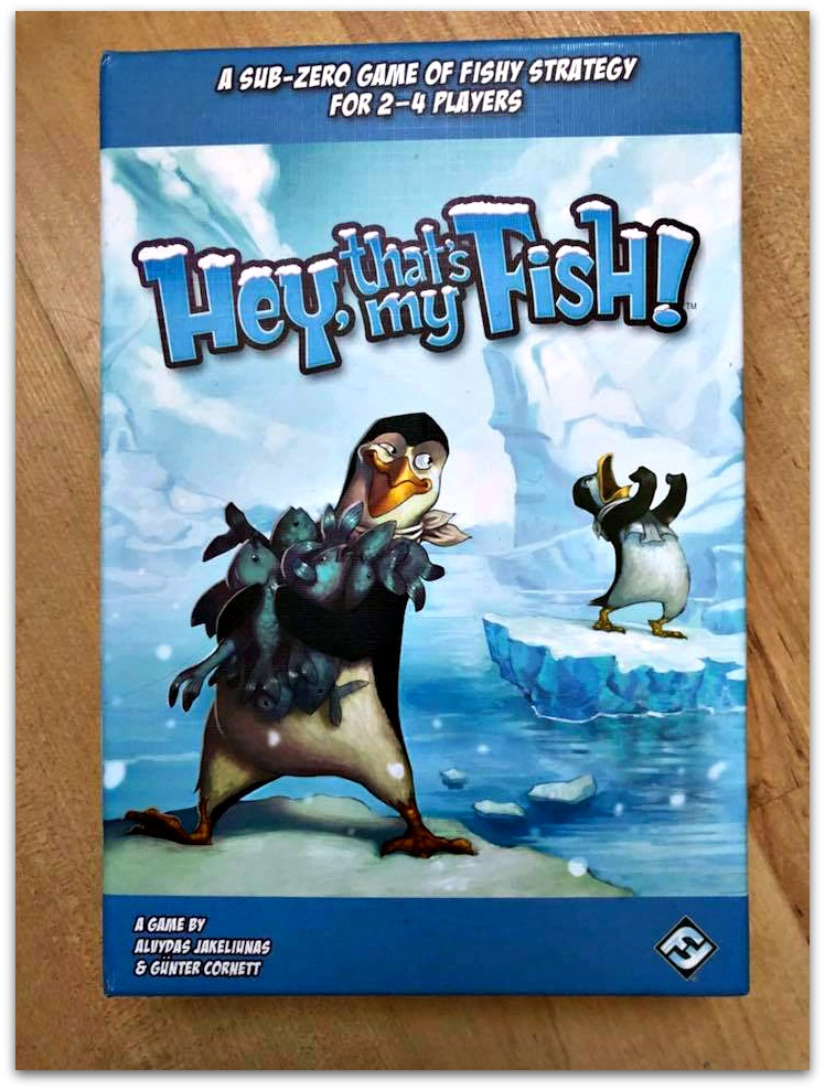 Picture of Hey thats My Fish game box
