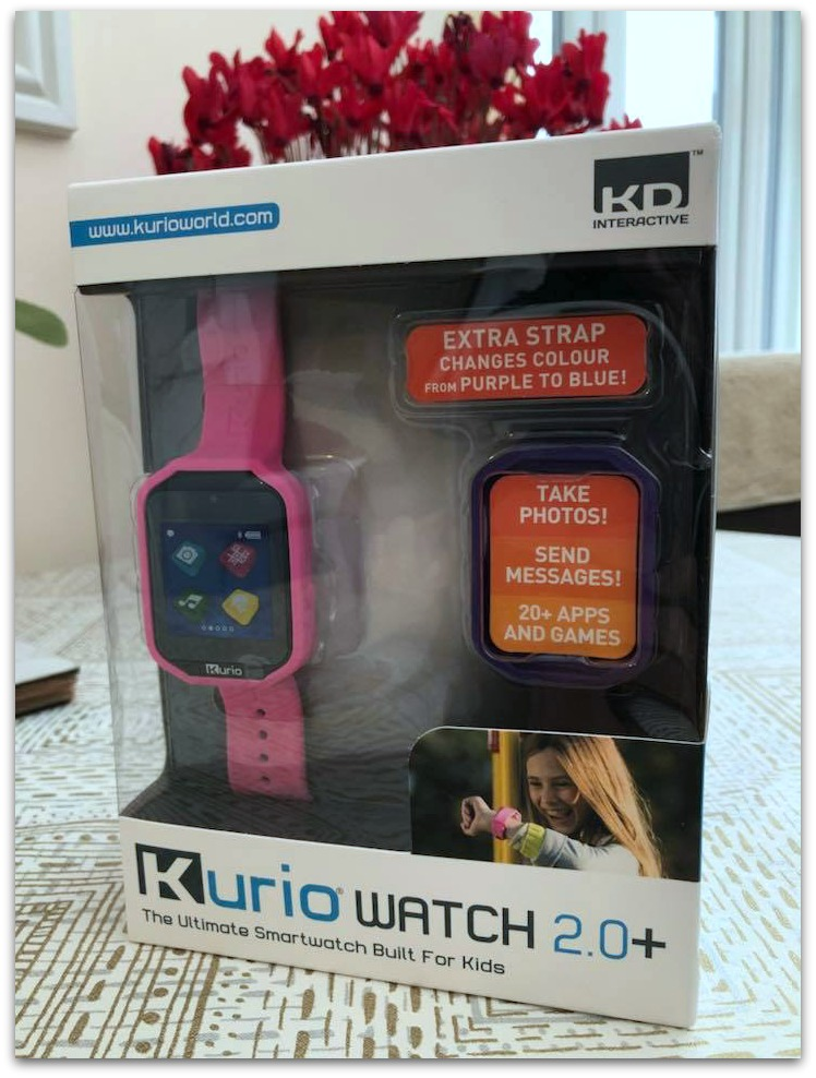 Picture of Kurio Watch 2.0 in box
