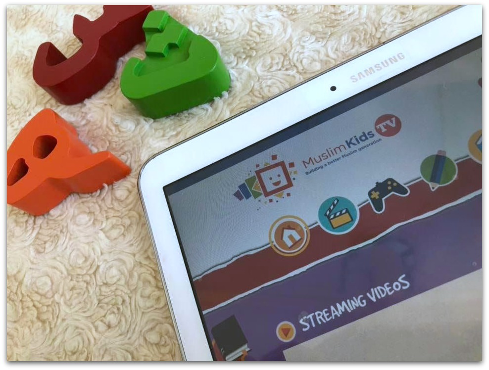 Muslim Kids Tv on Samsung Tablet