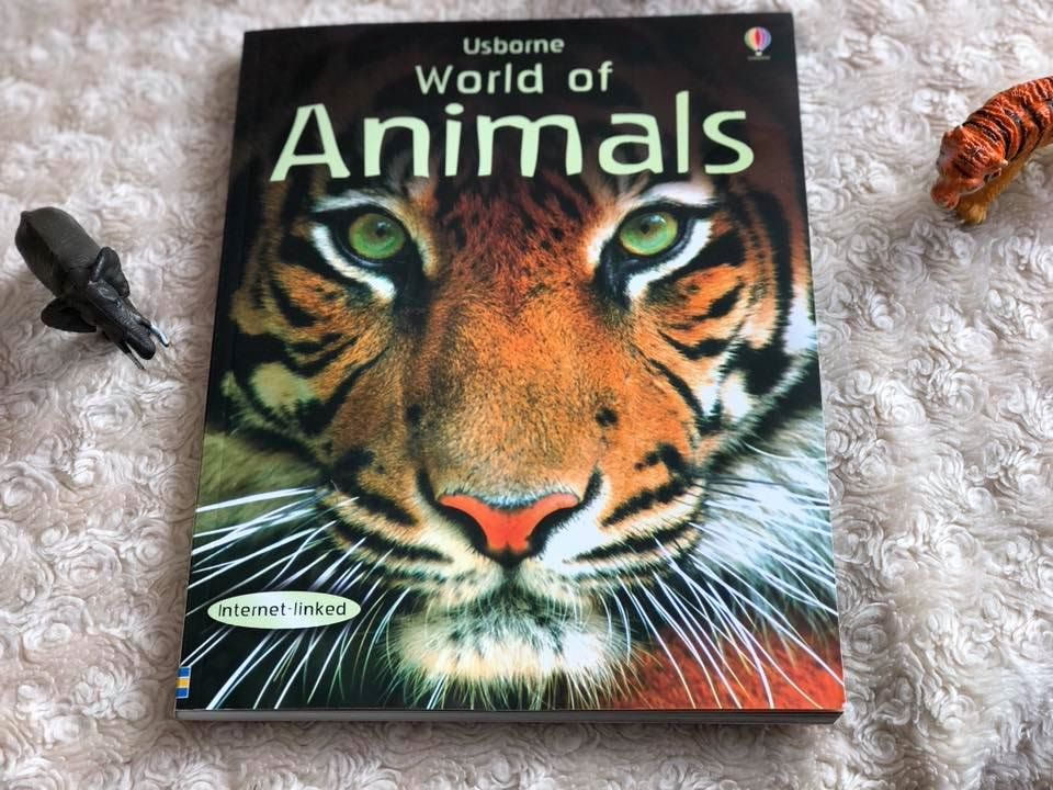 Cover of Usborne World of Animals