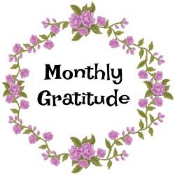 Monthly gratitude