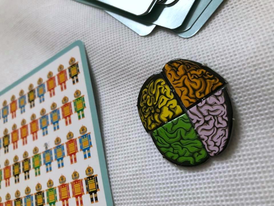 Brain pieces from Cortex Challenge 2