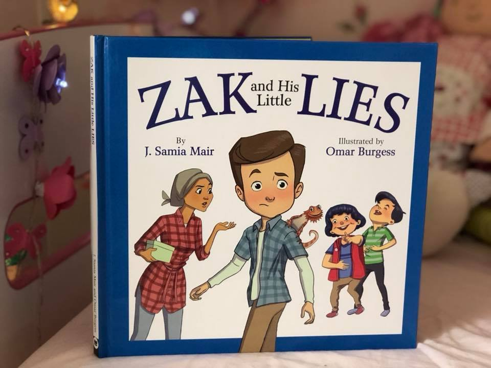 Picture of the book Zak and his little lies